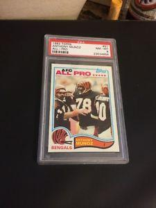 Details about �1982 Topps Anthony Munoz Non Auto Rookie