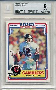 Details about �1984 84 Topps USFL Football Jim Kelly