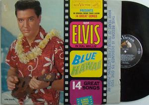 Details about 2 LPs by ELVIS PRESLEY Blue Hawaii  It Happened At The Worlds Fair both VG