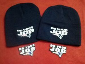 Details about �2 New England Patriots Champions Beanie