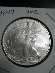 Details about �2009 1 oz Silver American Eagle