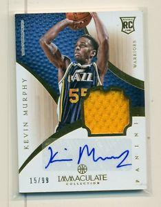Details about �2012-13 PANINI IMMACULATE KEVIN MURPHY