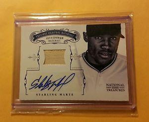 Details about �2012 National Treasures STARLING MARTE