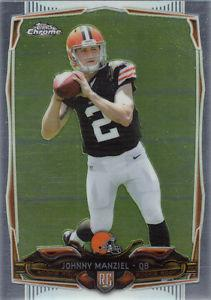 Details about �2014 Topps Chrome Johnny Manziel Rookie