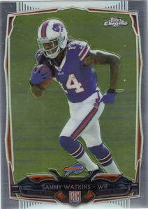 Details about �2014 Topps Chrome Sammy Watkins Rookie