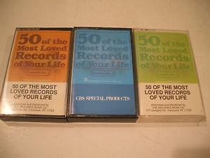 Details about 50 - OF THE MOST LOVED RECORDS OF YOUR LIFE - CASSETTE TAPES - 3