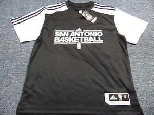 Details about  ADIDAS NBA AUTHENTIC SAN ANTONIO SPURS SHOOTING ... dcb148575