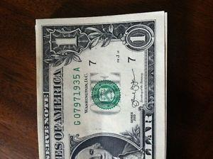 Details about Birthday birth year or Anniversary S 1935 $1 One Dollar Bill - RARE  UNCIR
