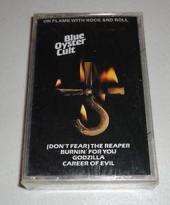 Details about Blue Oyster Cult On Flame With Rock And Roll Cassette Tape NEW Sealed