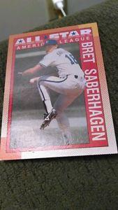 Details about �Bret Saberhagen 1990 Topps Al All Star