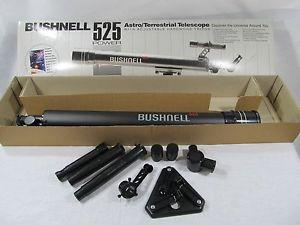Details about Bushnell 525 Power AstroTerrestrial Telescope PartsPieces Missing Tripod