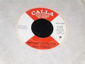 Details about �Charlie Hodges 45 CALLA 170 What's Gonna