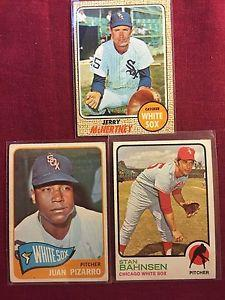 Details about Chicago White Sox Vintage Cards Pizarro,Bahnsen,McNertney One Price For All