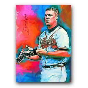 Details about �Chipper Jones #3 Sketch Card Limited 3/5