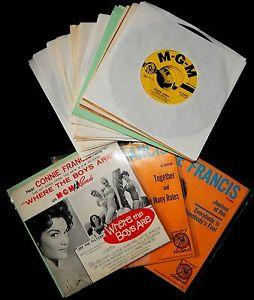 Details about �CONNIE FRANCIS 20 RECORD LOT-VG++ TO NOS