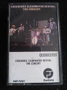 Details about CREEDENCE CLEARWATER REVIVAL THE CONCERT CASSETTE HARD BLUES ROOTS SWAMP ROCK