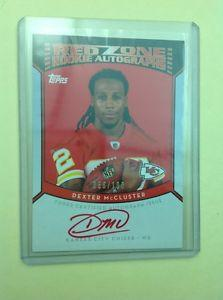 Details about �Dexter McCluster 2010 Topps Red Zone