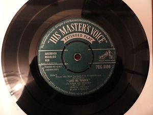 Details about �ELVIS PRESLEY LOVE ME TENDER HMV EP NO