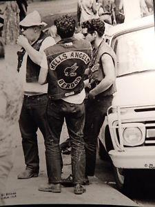 Details about �HELLS ANGLES CIRCA 19688x10 B&W PRINT