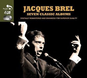Details about �Jacques Brel SEVEN CLASSIC ALBUMS French