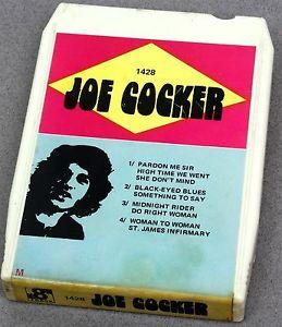 Details about �JOE COCKER 8 TRACK 1428 8-Track Tape