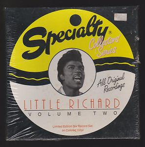 Details About Little Richard Speciality Volume Two Sealed