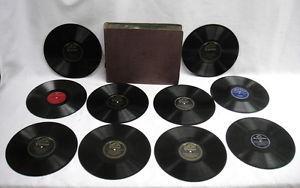Details About Lot Of 10 Vintage Inch 78 RPM Vinyl