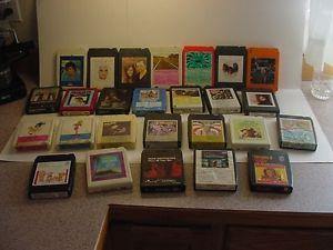Details about �Lot of 26 Vintage 8 Track Tapes Various