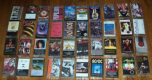 Details about Lot of 40 cassette tapes 70s 80s 90s metal, hard rock, rock - nice selection