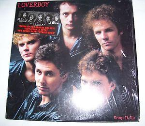 Details about �LOVERBOY KEEP IT UP EX- in SHRINK vinyl