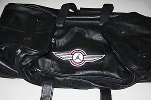 Details about Michael Jordan Senior Flight School Black Wheeled Cole Haan Bag - Excellent