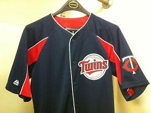 Details about �MLBMinnesota TwinsMajestic Vtg Authentic