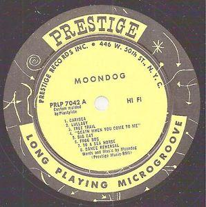 Details about �MOONDOG LP PRESTIGE 7042 MOONDOG 1956 W