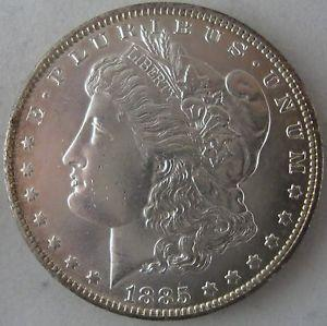 Details about �Near Gem 1885-O Morgan Silver Dollar -