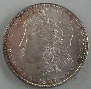 Details about �Near Gem 1897-P Morgan Silver Dollar -