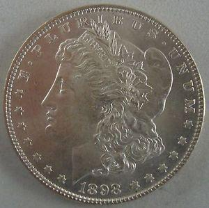 Details about �Near Gem 1898-P Morgan Silver Dollar -