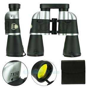 Details about NEW 7x50 Military  Floating Binoculars Telescope with UV Coated Optics  Bag