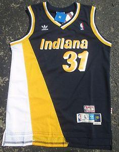 cheaper e9e30 2a544 Details about  NEW Throwback Indiana Pacers Jersey -Reggie ...