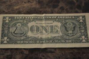 Details about Rare super low serial Number 1 Dollar Bill