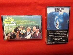 Details about Rare The Beach Boys Pet Sounds  Surfin USA on Cassette Tapes VG