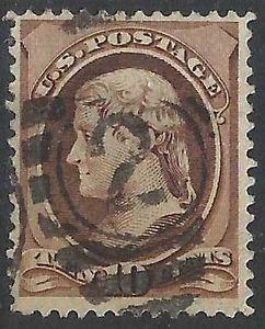 Details about �Scott 150 US Stamp 1870 10c Jeffersonr