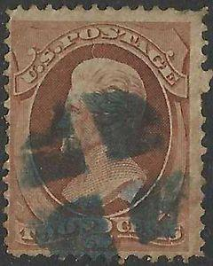 Details about �Scott 157 US Stamp 1873 2c Jackson Used