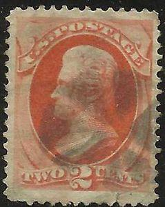 Details about �Scott 183 US Stamp 1879 2c Jackson Fancy