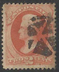 Details about �Scott 183 US Stamp 1879 2c Jackson Fancy