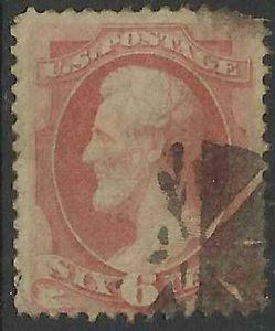 Details about �Scott 186 US Stamp 1879 6c Abraham