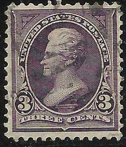 Details about �Scott 268 US Stamp 1895 3c Jackson Used