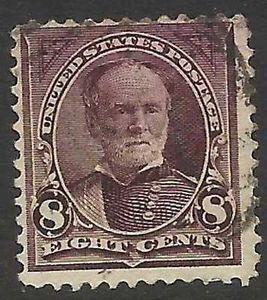 Details about �Scott 272 US Stamp 1895 8c Sherman Used