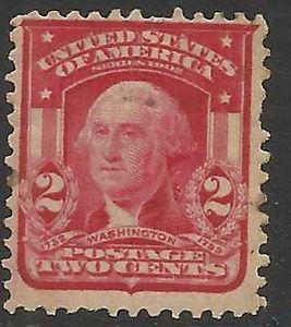 Details about �Scott 319 US Stamp 1903 2c Washington