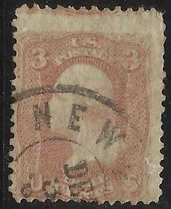 Details about �Scott 65 US Stamp 1861 3c Washington