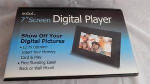 Details About Shomi 7 Digital Photo Frame Player Ez Set Up Free